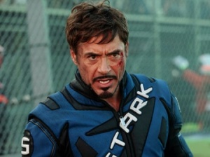 Robert Downey Jr is Iron Man 2